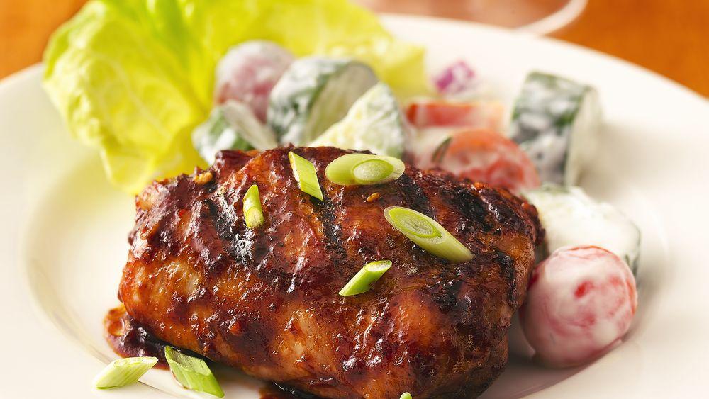 Chili-Glazed Grilled Chicken