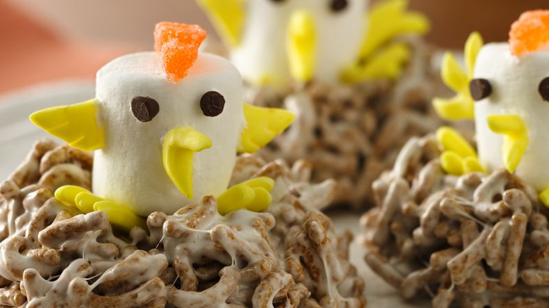 Cereal Birds' Nests