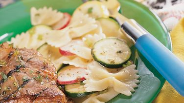Summer Squash and Pasta Salad