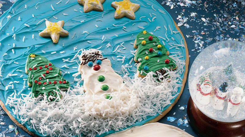 Snow Globe Cookie