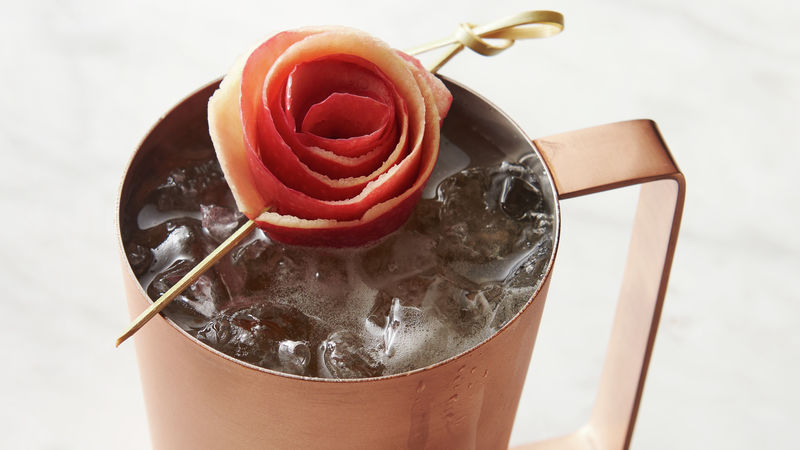 Apple Cider Mocktail Mule