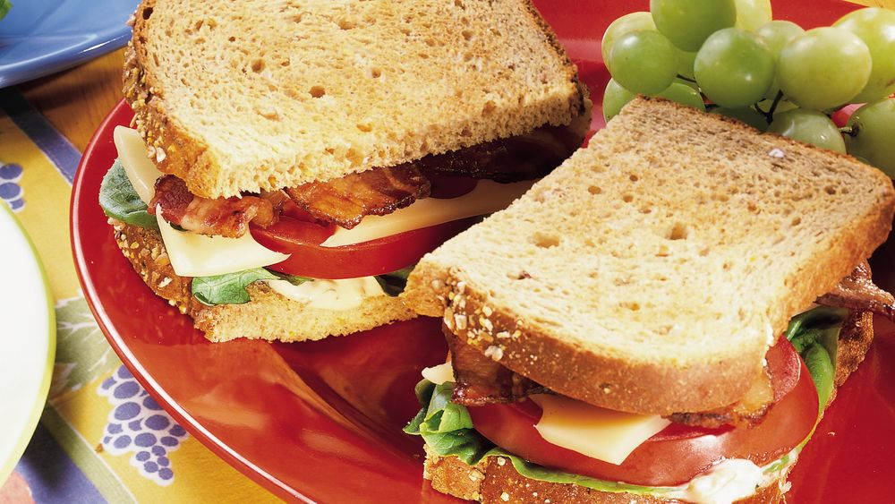 BLT and Swiss Sandwiches with Tomato Rémoulade