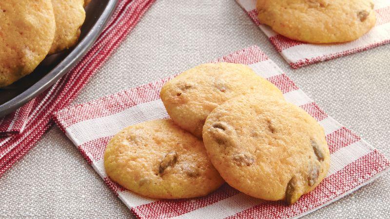 Pumpkin Seed Cheddar Cookies