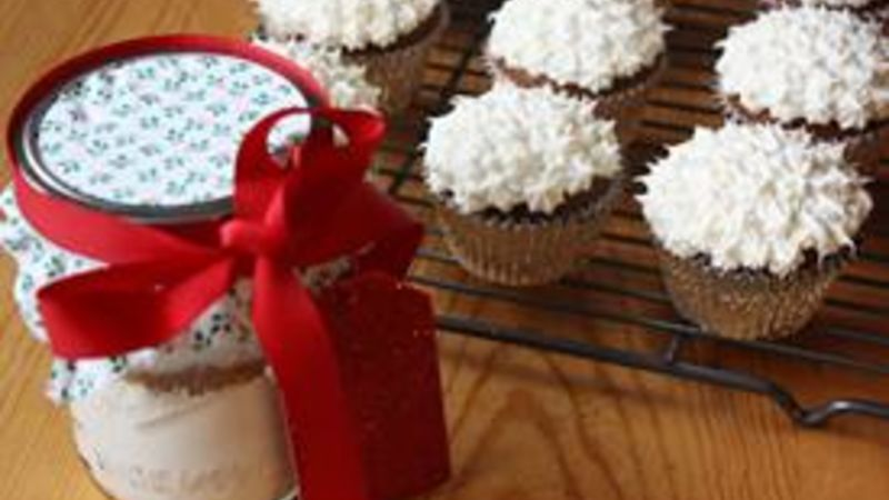 Ginger Molasses Cupcakes