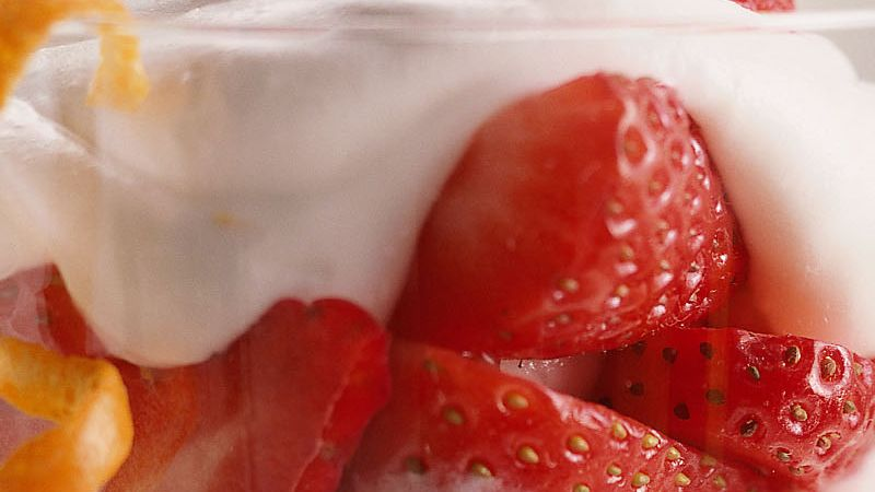 Gluten-Free Strawberry Orange Fool