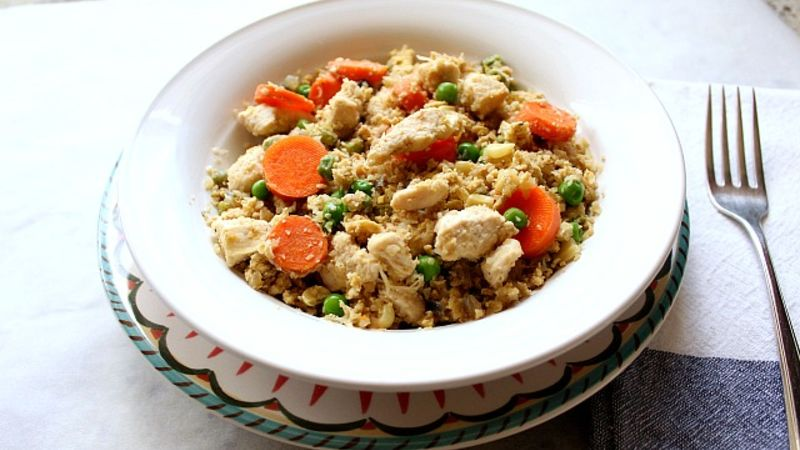 Cauliflower Arroz con Pollo