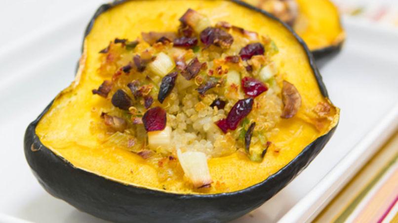 Relleno de Quinoa y Castañas