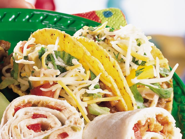 Layered Taco Toppings