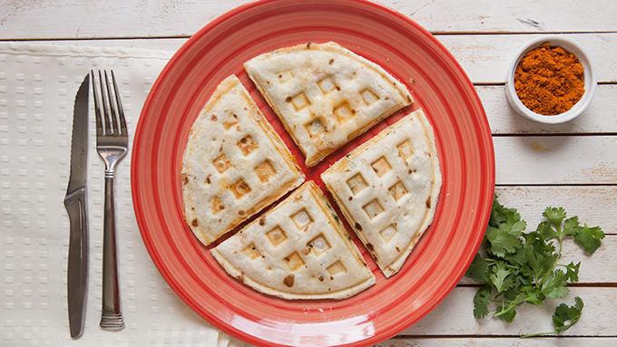 Waffle Iron Quesadillas | 25 Inventive Waffle Iron Recipes To Make With Your Waffle Maker