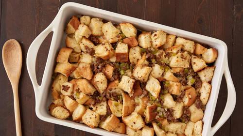 Easy Sausage Stuffing Recipe