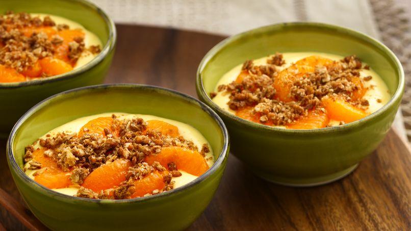 Postre Crema de Naranja