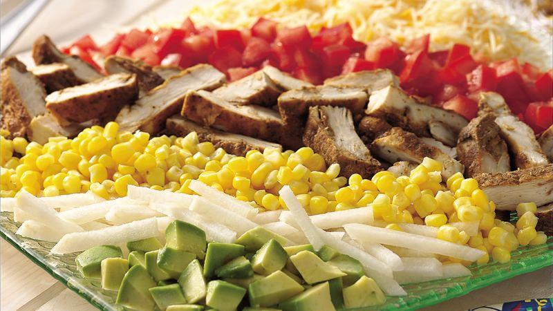 Southwestern Chicken Cobb Salad