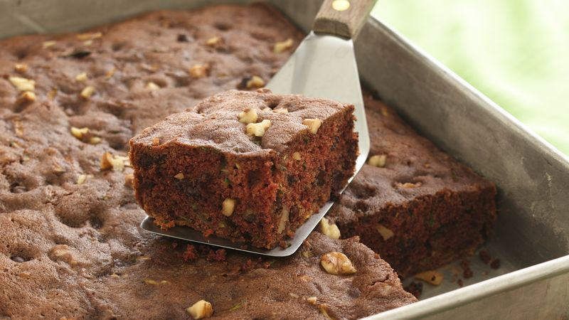 chocolate chip zucchini cake chocolate chip zucchini cake recipe bettycrocker 2854