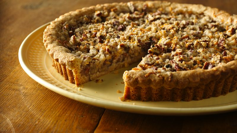 Apple Cheddar and Spice Cookie Tart