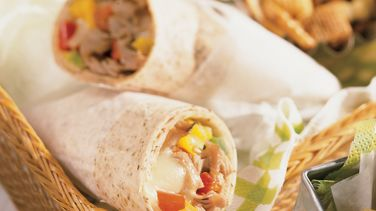 Philly Cheesesteak Wraps