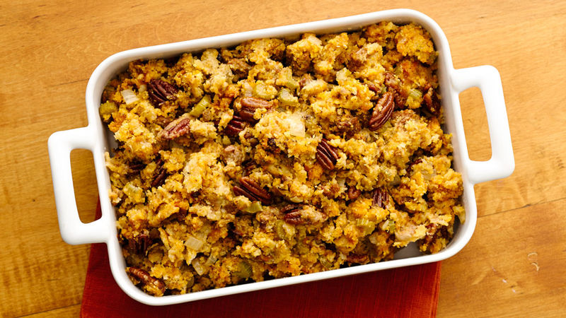 Slow-Cooker Chorizo, Pecan and Cheddar Stuffing