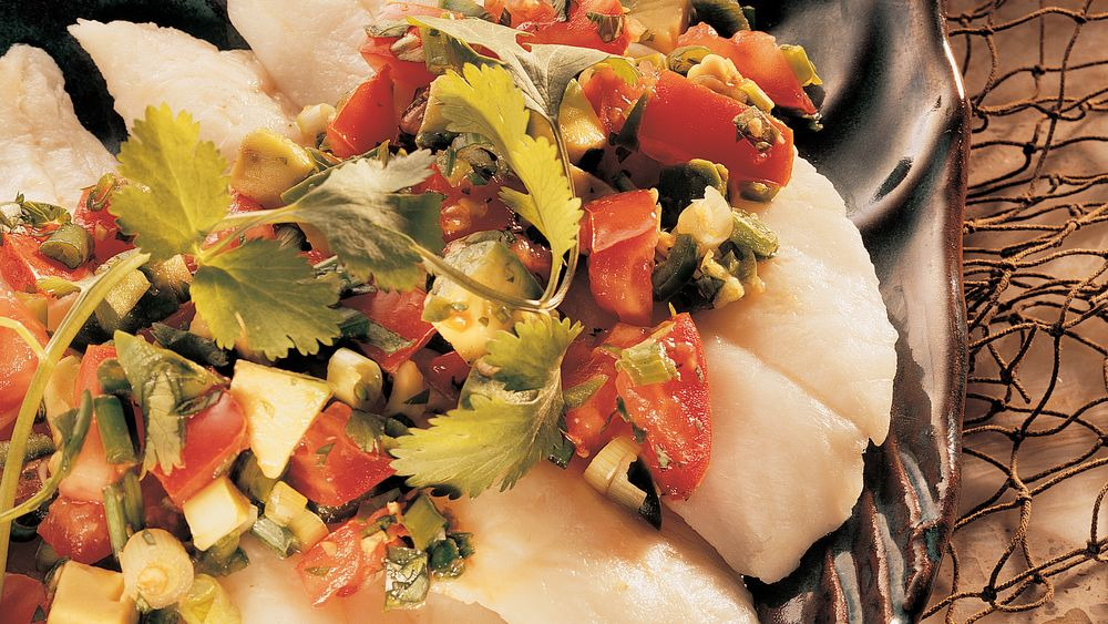 Fish Fillets with California Salsa