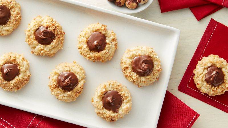 Thumbprint Cookies with Nutella® hazelnut spread