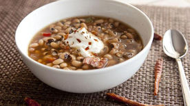 Spicy Slow-Cooker Black-Eyed Peas