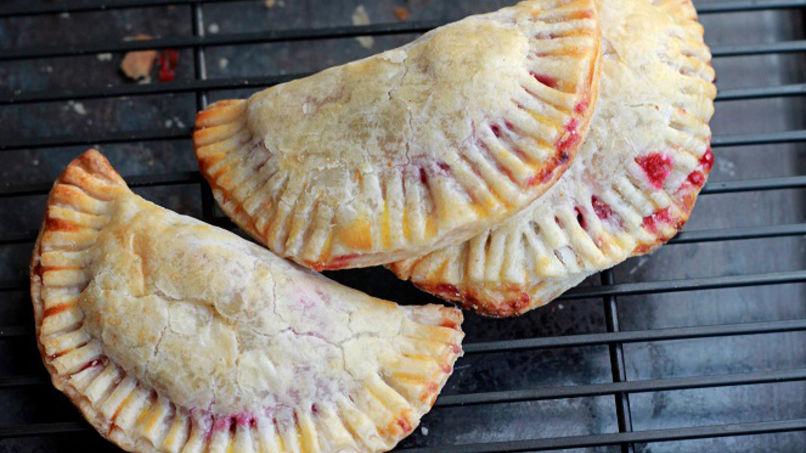Empanadas de Arándanos y Brie
