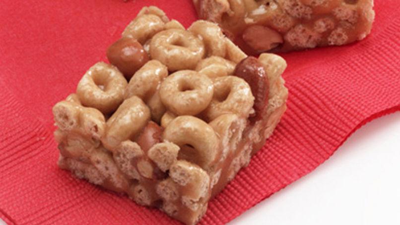 Barras de cereal Cheerios™ Honey-Peanut libres de gluten