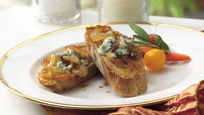 Gorgonzola and Caramelized Onion Appetizer