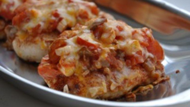 Salsa Chicken with Taco Seasoning