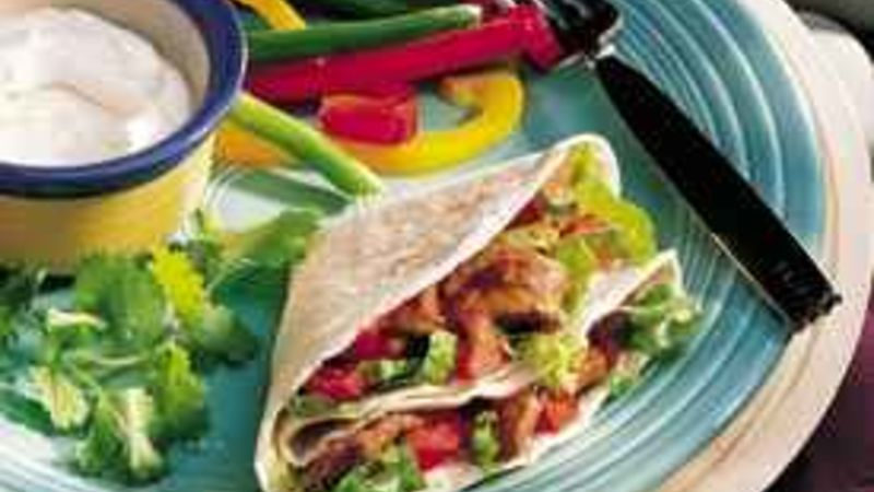 Sweet-and-Spicy Beef Fajitas
