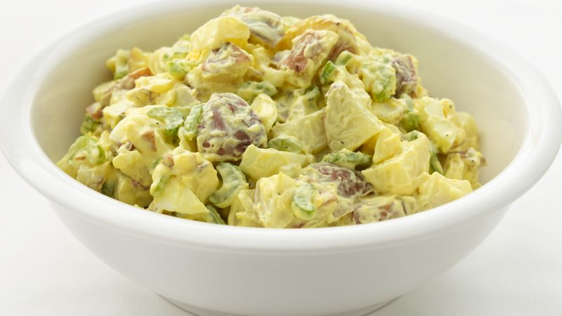Skinny Classic Potato Salad Recipe Bettycrocker Com