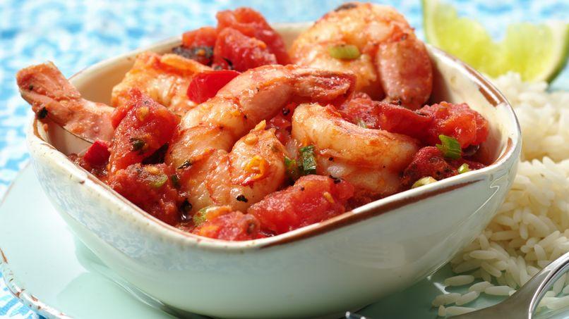 Fire-Roasted Tomato-Shrimp Veracruz