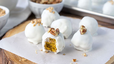 Easy Pumpkin Truffles