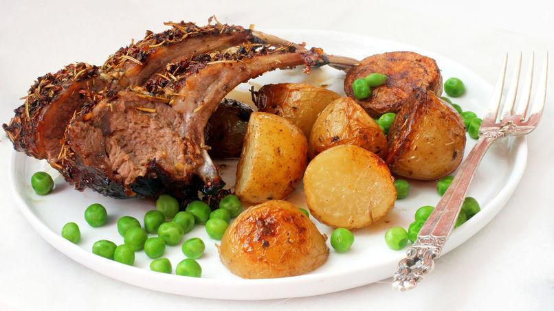 Lamb in Rosemary Sauce