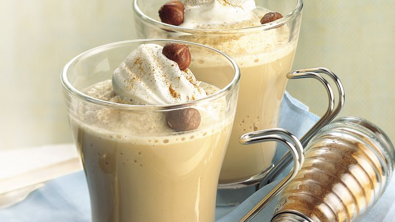Iced Hazelnut Coffee Coolers