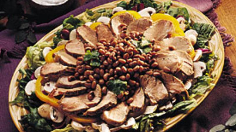 Southwest Pork Salad