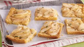 Rosemary-Pear Tart