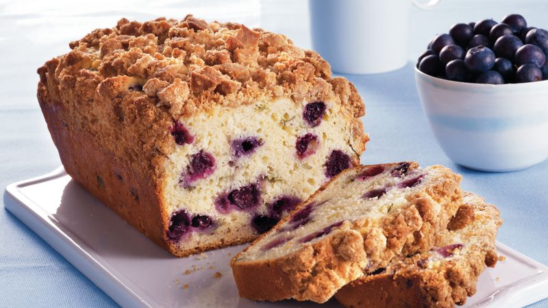 Blueberry-Basil Loaf