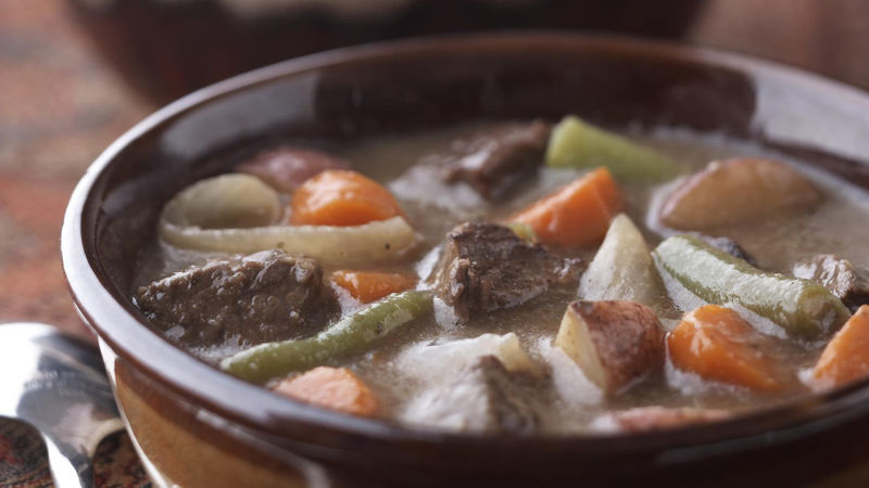 Skinny Hearty Vegetable Beef Stew