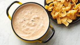 2-Ingredient Chili Cheese Dip