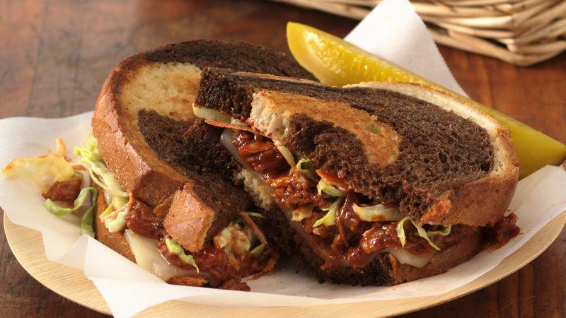 Carolina Reuben Sandwiches