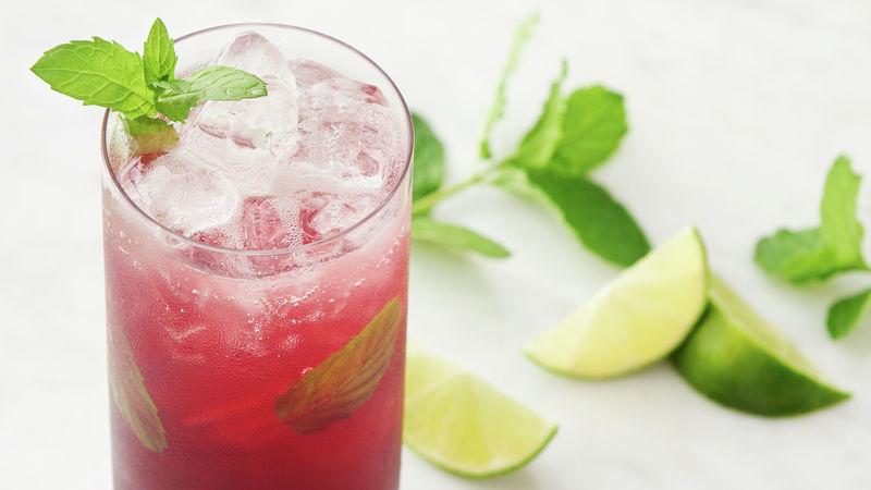 Pomegranate Chile Mojito Mocktail