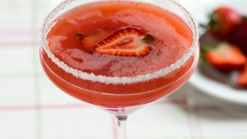 Strawberry Cosmopolitan Recipe Bettycrocker Com