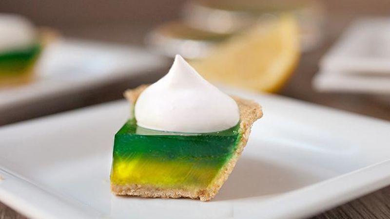 Lemon Lime Pie Jello Shots Recipe Tablespoon Com