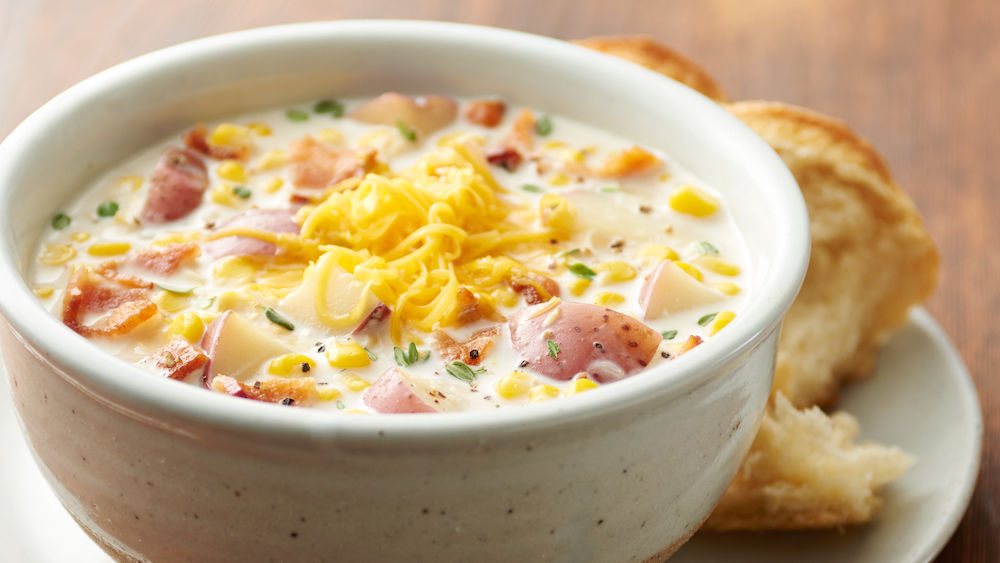 Slow-Cooker Bacon Corn Chowder