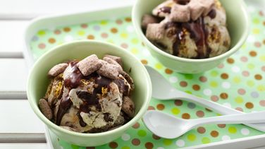Muddy Buddies®  Brownie Ice Cream
