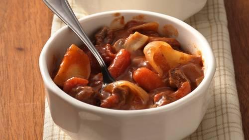 Dutch Oven Beef Stew Recipe Bettycrocker Com