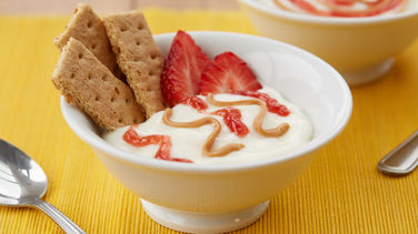 PB&J Yogurt Bowl