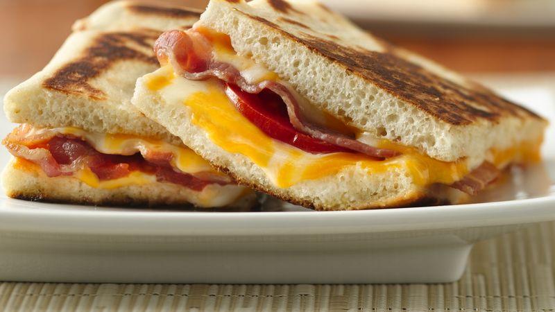 Bacon Double-Cheese Panini Recipe - Pillsbury.com