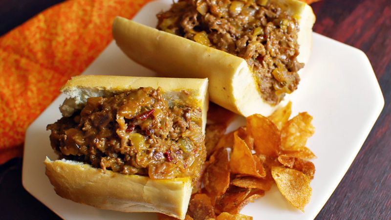 Fiery Mexican Cheesesteak