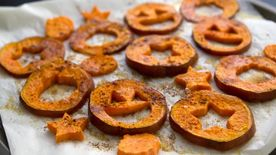 Halloween Sweet Potato Fries