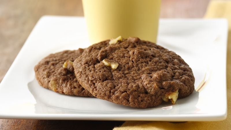 Chocolate-Banana Bread Cookies